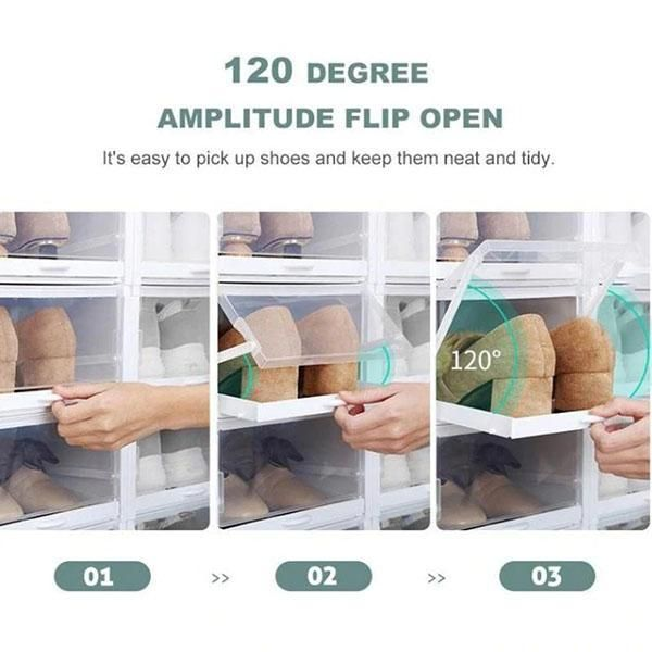 Drawer Type Shoe Box Offerspet In 2020 Shoe Storage Shoe Box Storage Shoe Containers