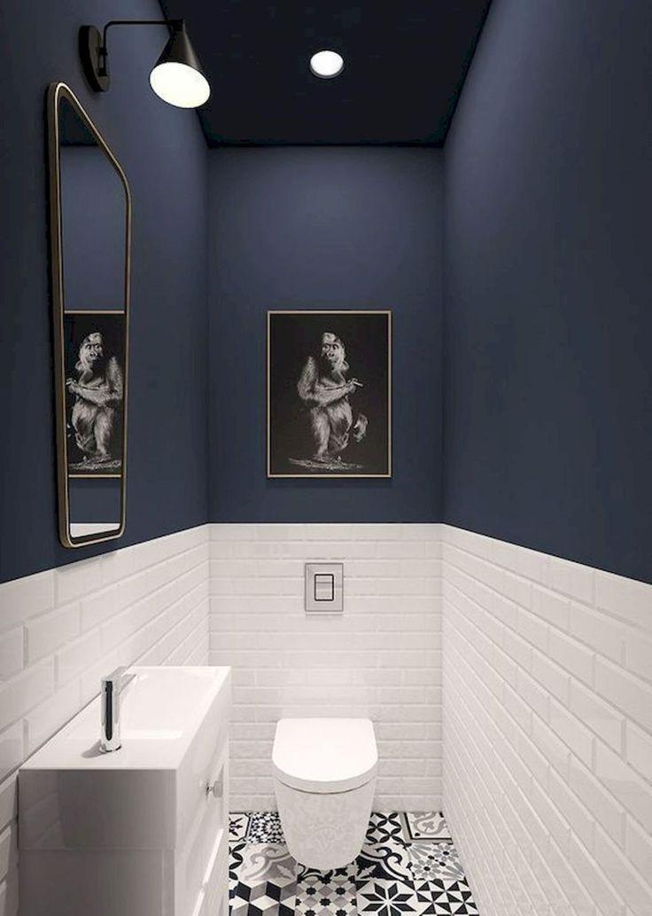 111 tolle Ideen für kleine Badezimmer mit kleinem Budget (51  #badezimmer #budget #ideen #kleine #kleinem