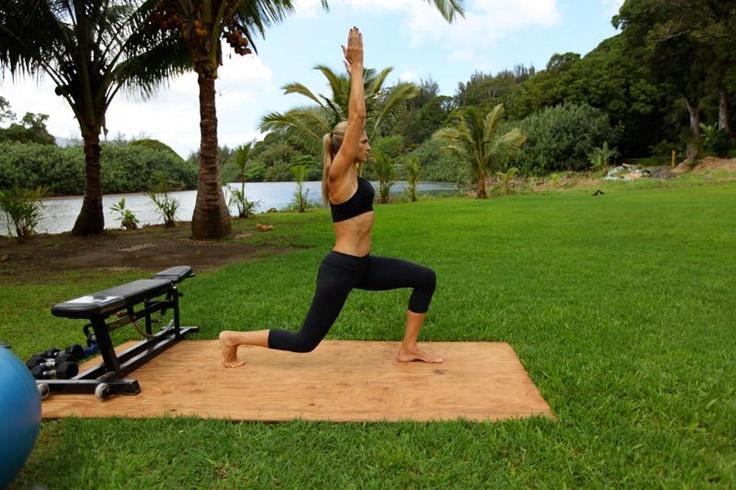 Free 90 day workout from Gabrielle Reece! Master Workout | gabbyandlaird.com