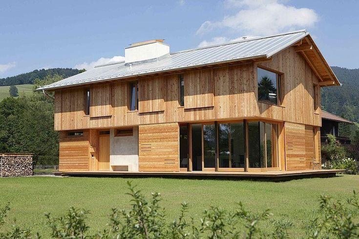 Amazing wooden residence par Vonmeiermohr Architekten – Schliersee, Allemagne. | Construire Tendance