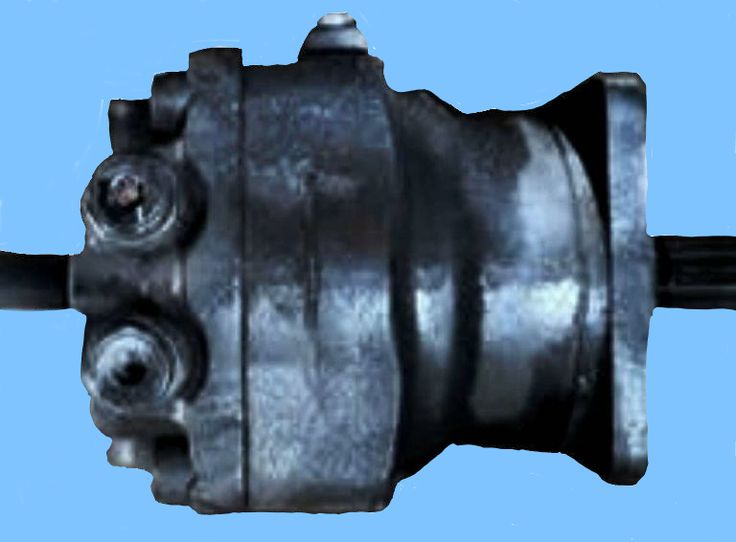 Case Excavator 9040B #164484A1 Hydrostatic Motor Repair