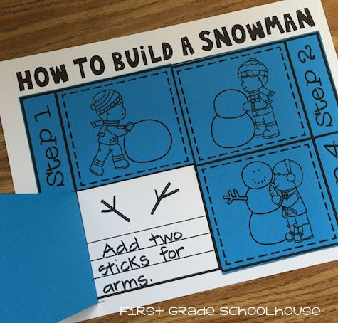 How to Build a Snowman We'll have a unit on winter when we return to school in January. Although it doesn't snow where we live the students still enjoy talking about snow activities. We read snowman stories and learn about building a snowman. Here's a fun and engaging snowman activity that you can use in the classroom. It's called How to Build a Snowman. The students draw and write about the steps in building a snowman. It's a simple and quick prep activity. Follow up by having your students…