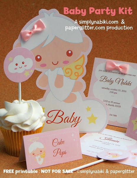 FREE Baby Party Kits Downloads