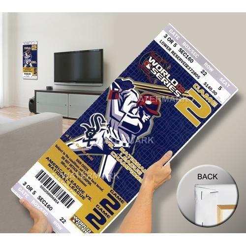 2005 World Series Mega Ticket - Chicago White Sox