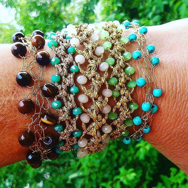Καλή εβδομάδα. #βραχιόλια #χειροποίητα #handmadebracelet #summermood #summerstyle