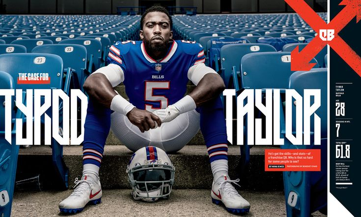 ESPN The Magazine / QBs at a Crossroads  Photography by Benedict Evans  https://www.benedictevans.com/  Custom Typography by Michael Brandon Myers  http://twoem.tumblr.com/