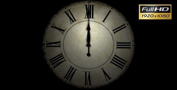Happy New Year Clock Bell