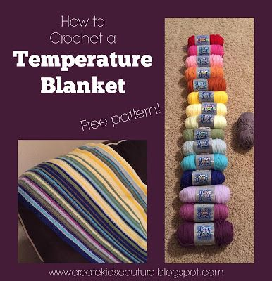 Create Kids Couture: Temperature Blanket