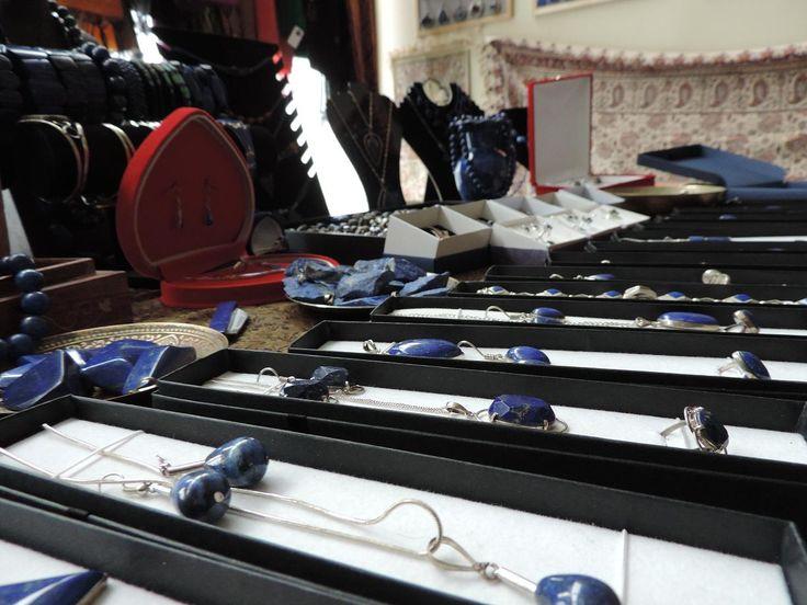 Biżuterii z lapis lazuli u nas pod dostatkiem ;)