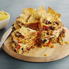 Recept - Tortillataart met nachochips  - Boodschappenmagazine