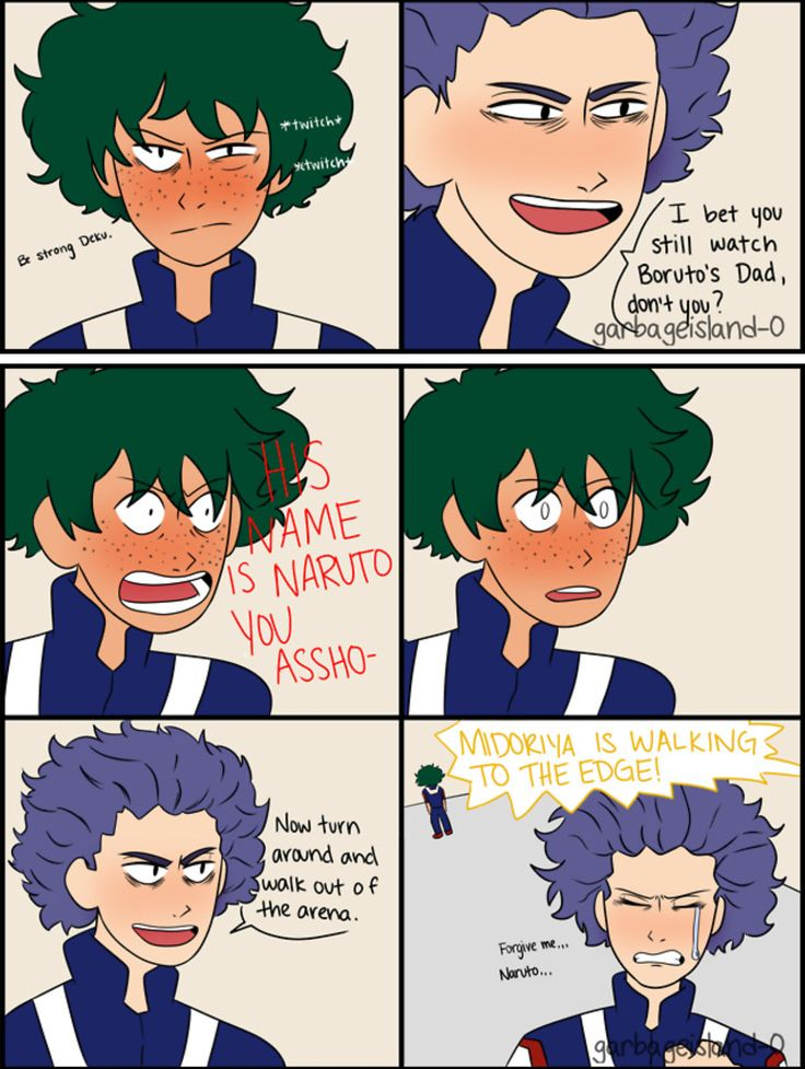 What do you mean this Deku isn't canon?