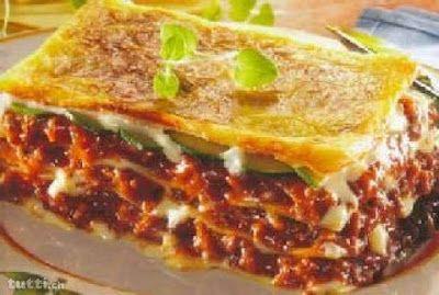 Lasagne à la bolognaise - Recettes de cuisine faciles et simples | Recettee