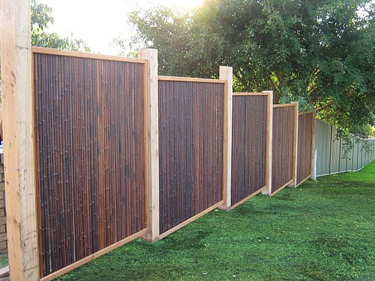 How To Build A Bamboo Fence Google Search Bamboo