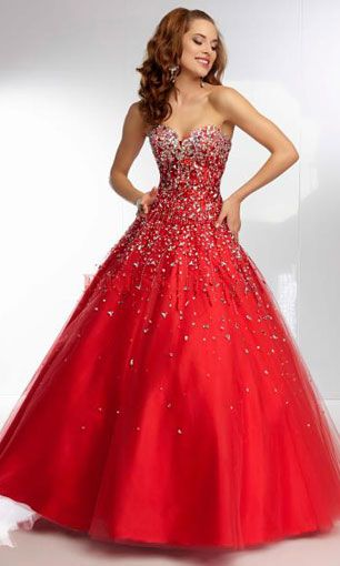 prom dresses ball gowns. This looks like mine...