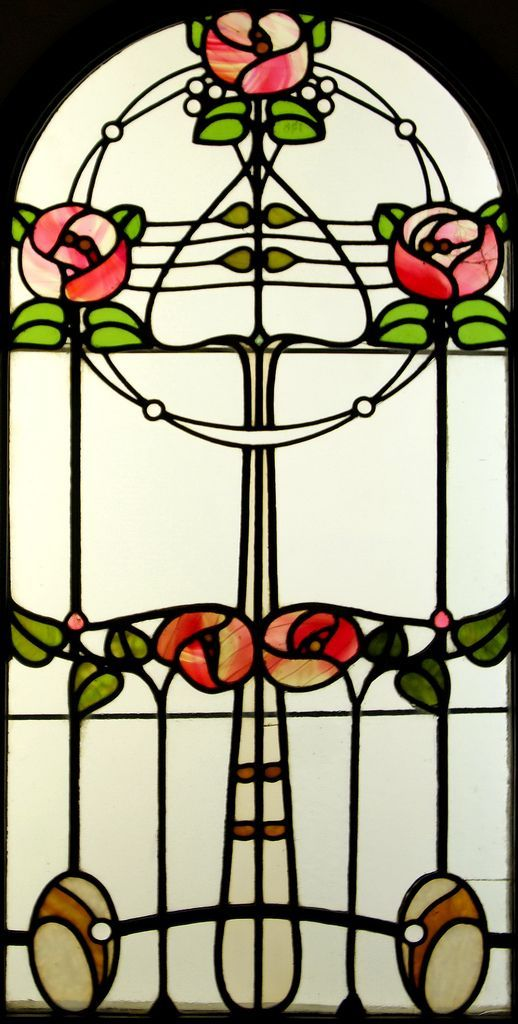 Art Nouveau Style Stained Glass Window By R 243 Th Miksa