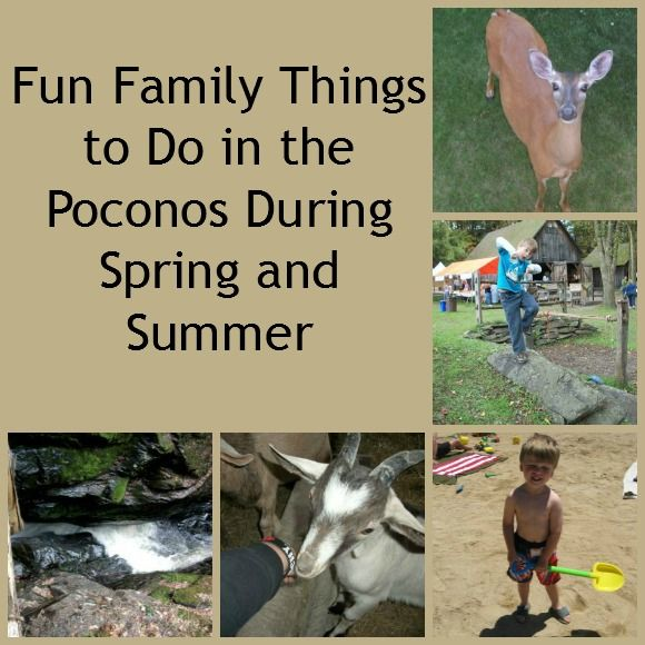 Fun Family Things to Do in the Poconos This Spring and Summer | The Poconos is mostly known for its ski resorts, but we actually have MORE to do in the warmer months than in the winter! Check out a few of my favorite inexpensive family activities in the Poconos during spring and summer.