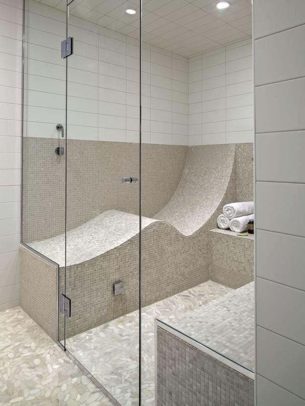 Bathroom Shower/sauna Combo