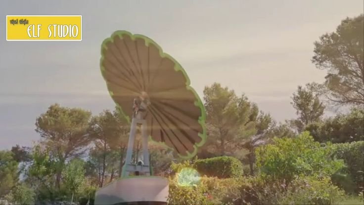 Smartflower - Photovoltaic system more efficient Up to 40%