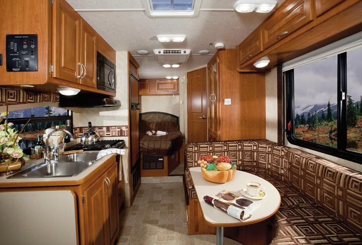 Motorhome remodel 2011 holiday rambler aluma lite class for Rambler kitchen remodel ideas