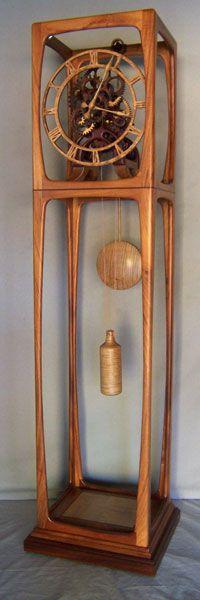 Gary Johnson's Portfolio of Handmade Wood Clocks