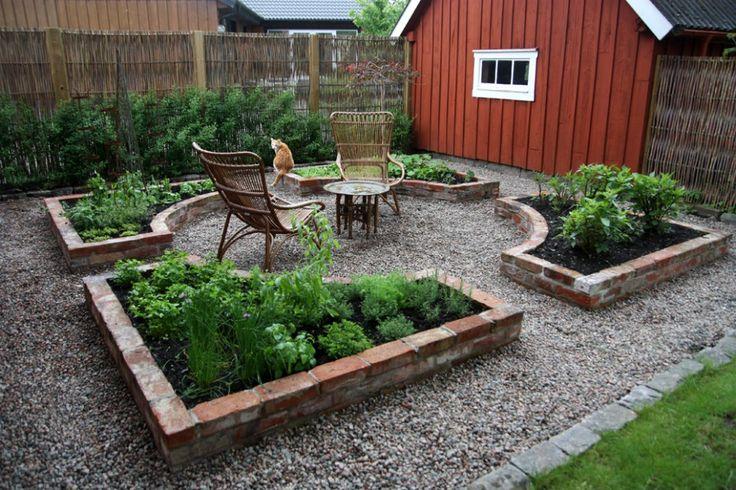 Före och efter: Köksträdgården - Sara Bakar