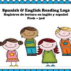 Reading Logs Bilingual / Registros de lectura... by Mrs Drakulich | Teachers Pay Teachers