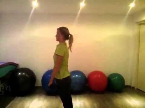 Oefening schouder en thoracale wervelkolom - YouTube