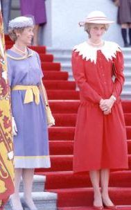 Princess Diana in Canada in July 1983