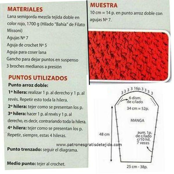 Cómo tejer este maravilloso saco con capucha paso a paso