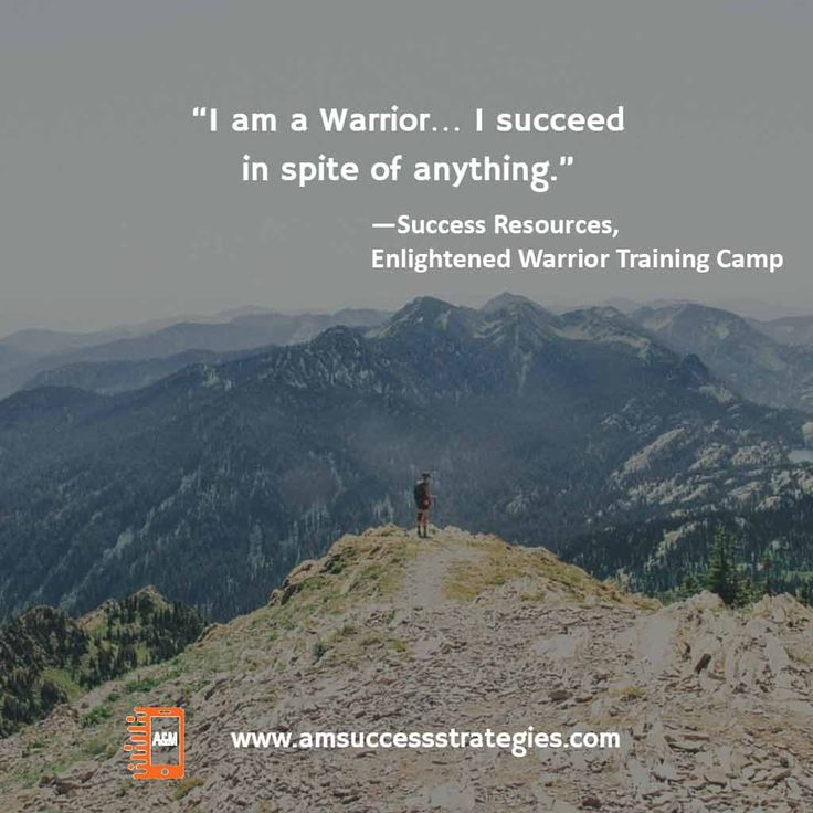 What is success to you? How far are you willing to go? Being successful means never stop trying. #amsuccessstrategies #enlightenedwarrior