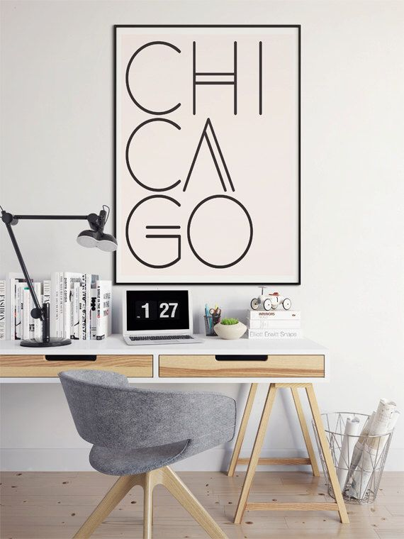 Chicago Print, Chicago Wall Art, Chicago, Chicago Poster, Chicago Art, Windy City, Typography Poster by DashofSummer on Etsy https://www.etsy.com/listing/240128552/chicago-print-chicago-wall-art-chicago