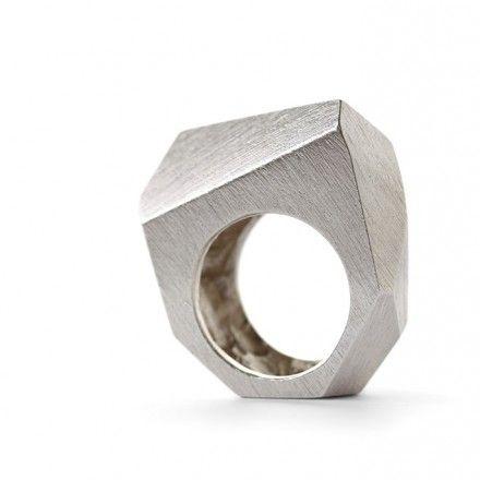 decovry.com - Staen | Ring Rock Zilver