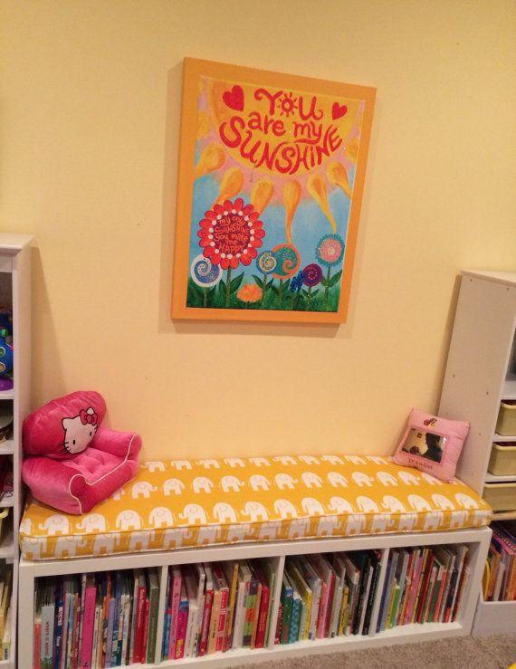 Ikea KALLAX Custom Cushion Playroom door HearthandHomeStore