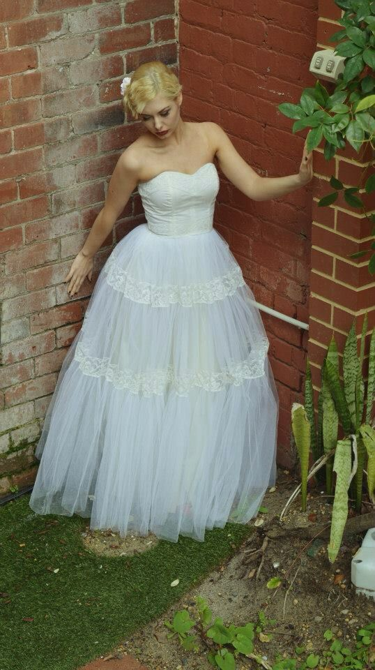 Vintage wedding dress Hair by @featureshairstyling
