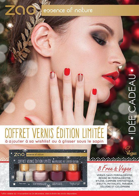 Coffret+Vernis+à+ongles+Noël+en+édition+limitée+-+Zao+Makeup