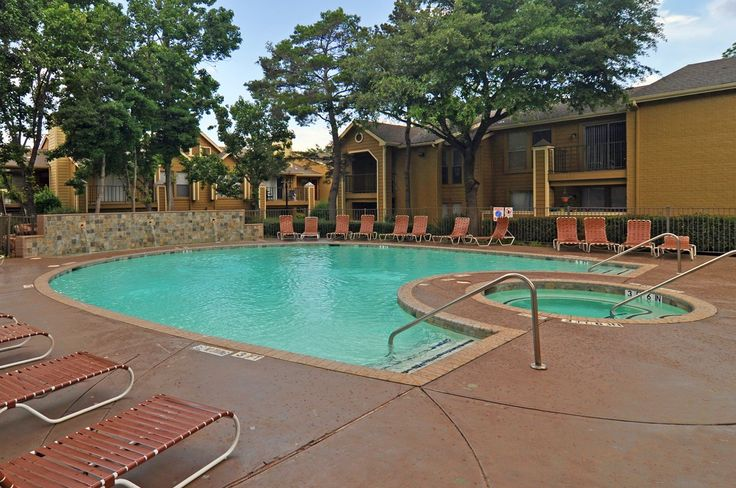 Get your tan on the sundeck at Pavilion Apartments in Arlington, TX