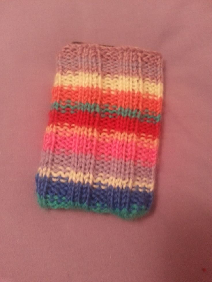 iPod Classic knitted sock