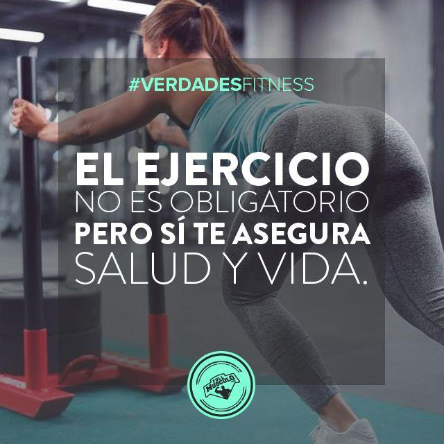 Hacer ejercicio no es obligatorio. Puedes tener una vida bastante activa fisicamente sin tener que suscribirte a un gimnasio.  #estilodevida #vida #life #lifestyle #bodybuilding #heatlh #salud #healthy #salud