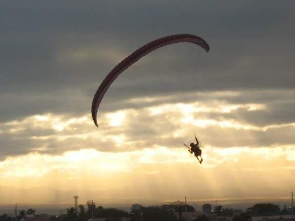 Paragliding Pampanga 2010