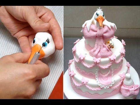 Elegant Wedding Cake.How To - Tutorial by CakesStepByStep - YouTube