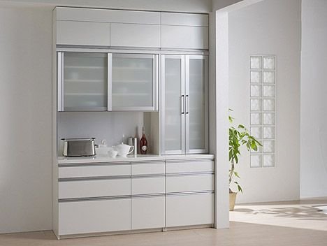 キッチンボード 食器棚 IKシリーズ パモウナ ダイヤモンドハイグロス パモウナ IKシリーズ ●
