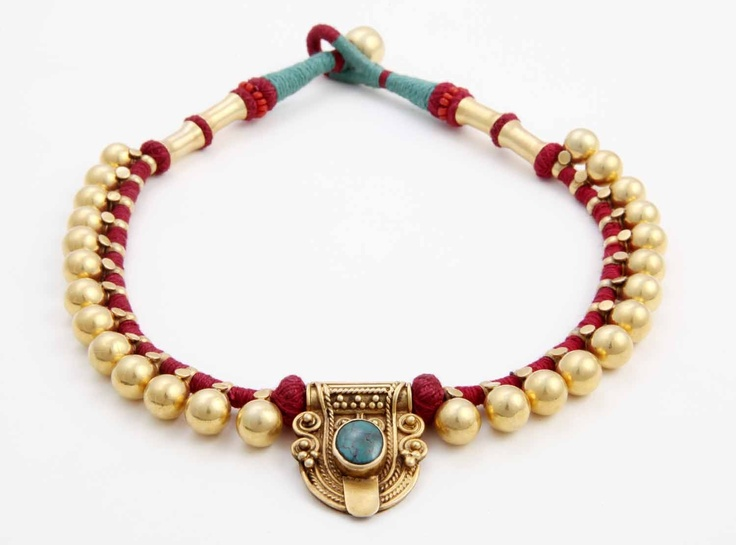 Indian Tribal Necklace. Hand made in India