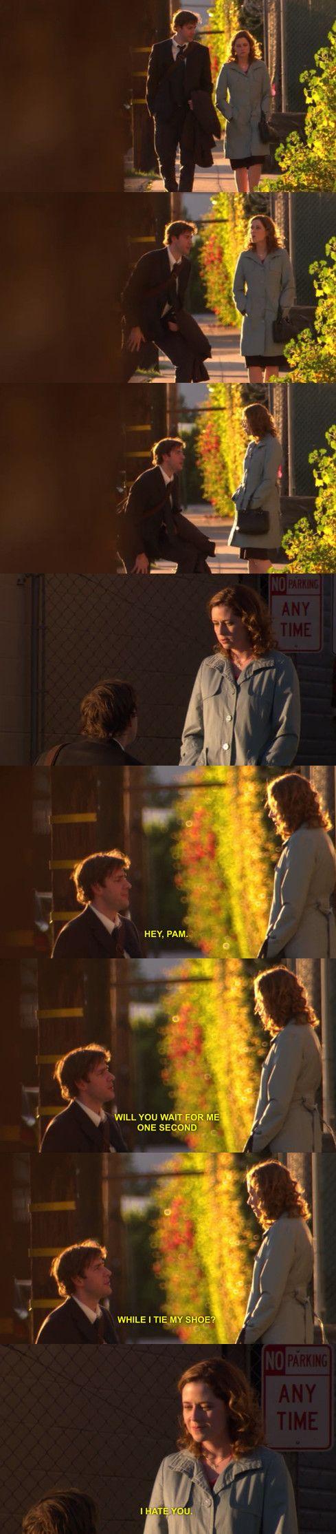 the office, television, 2000s, comedy, John Krasinski, Jenna Fischer