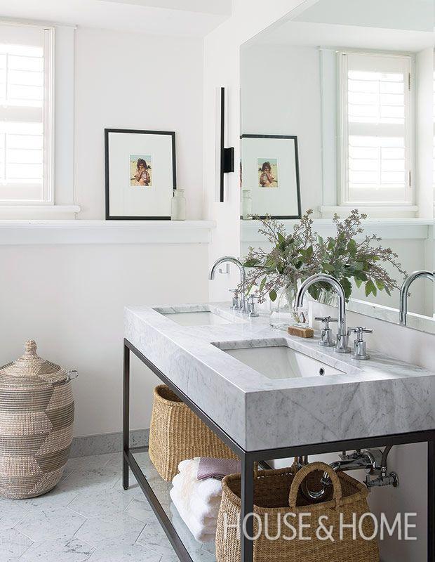 163 best home bath images on pinterest bathroom ideas for Second bathroom ideas