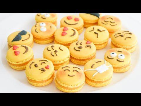 Macarons de Emojis  Sabor Limón   TAN DULCE - YouTube