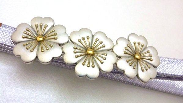 Japanese Obidome   Silver