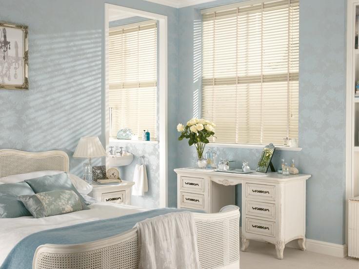 White Wooden Bedroom Blinds - Home & Garden Improvement Design ...