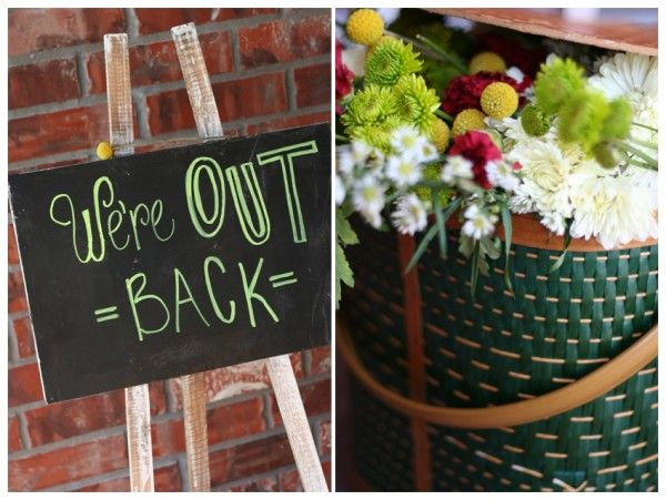 houston tx event design backyard engagement party eat drink and be married ideas