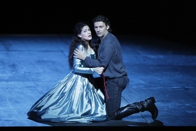 Anja Harteros and Jonas Kaufmann in  Don Carlo