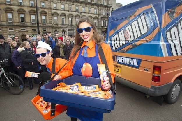 There is now an official IRN-BRU ice-cream. | Rejoice, Irn-Bru Ice Cream Is Finally Here